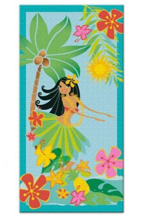 """beach towel - """"hula honey"""""""