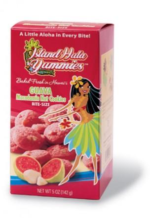 """Island Hula Yummies - BITE SIZE """"Guava Macadamia Nut"""" Cookies"""