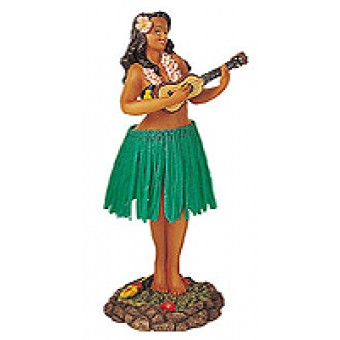 """leilani - ukulele"" (green skirt)"
