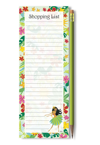 List Pads with Pencil