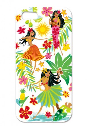 "iphone 4/4s case - ""hula honeys"""