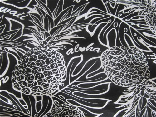"""black - aloha pineapples"""