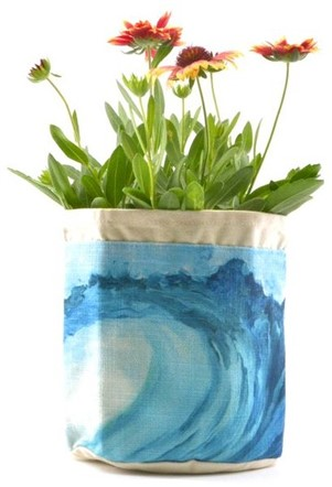 """aloha plant pouch - """"blue wave"""""""