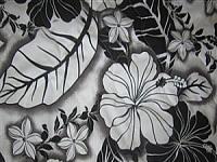 """""""black - hibiscus plumeria"""""""