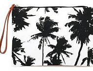 """black & white palms"""