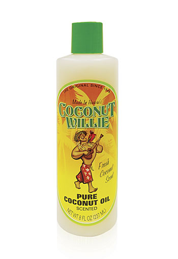 """coconut willie"" SCENTED - coconut oil"