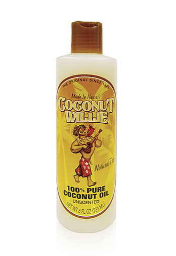 """coconut willie"" - UNSCENTED coconut oil"