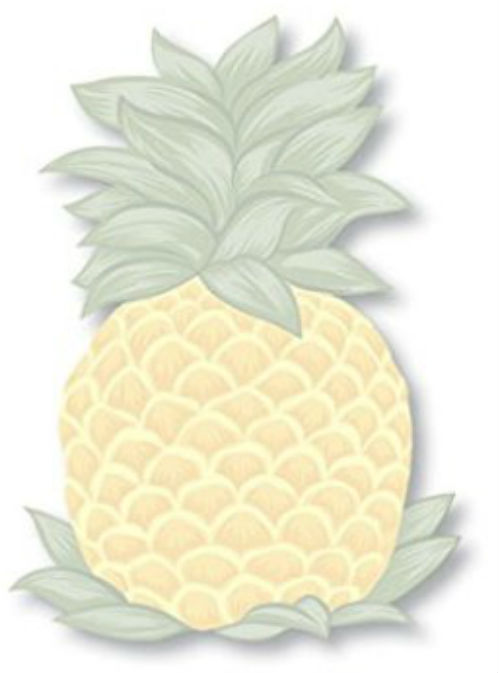 "die-cut sticky notes - ""pineapple"""