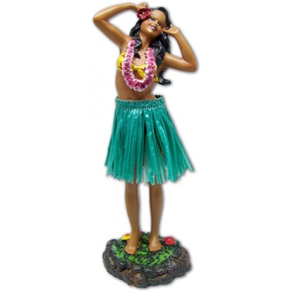 """leilani - singing"" (green skirt)"
