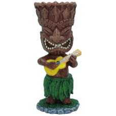 """mini - tiki with ukulele"""