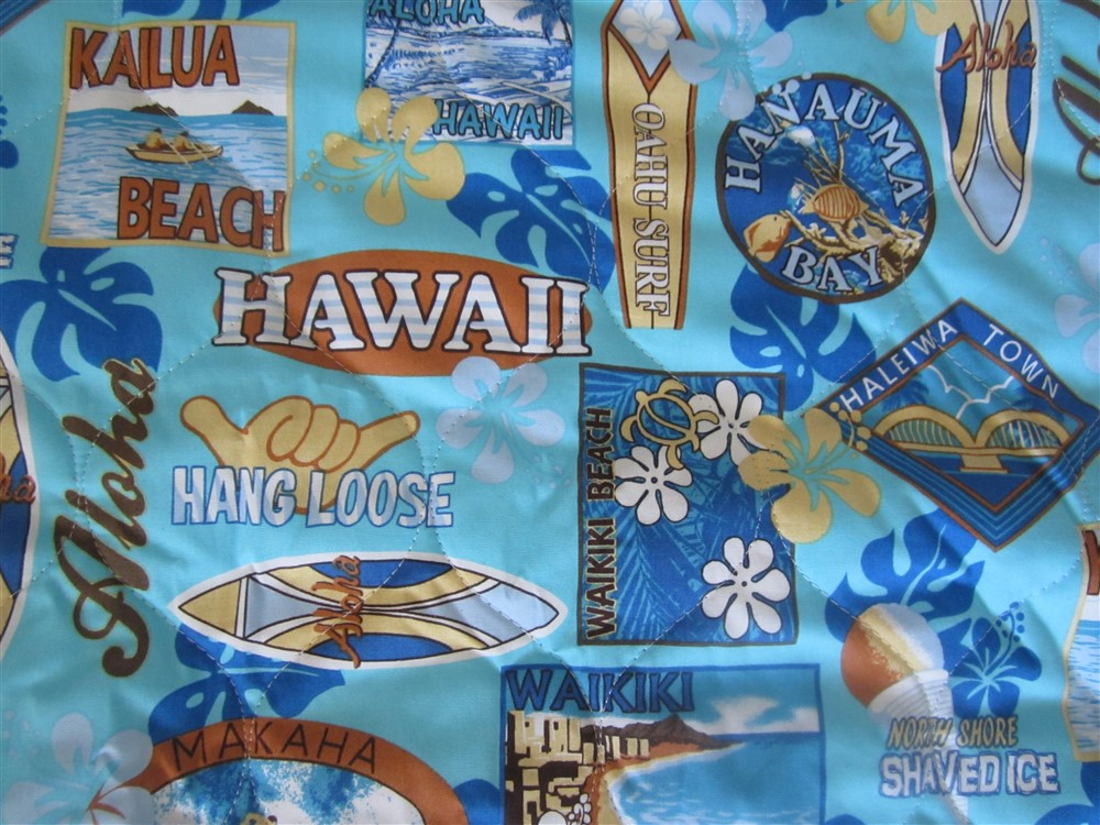 """aqua blue - oahu surf"""