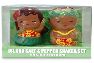 """salt and pepper set - hula keiki"""