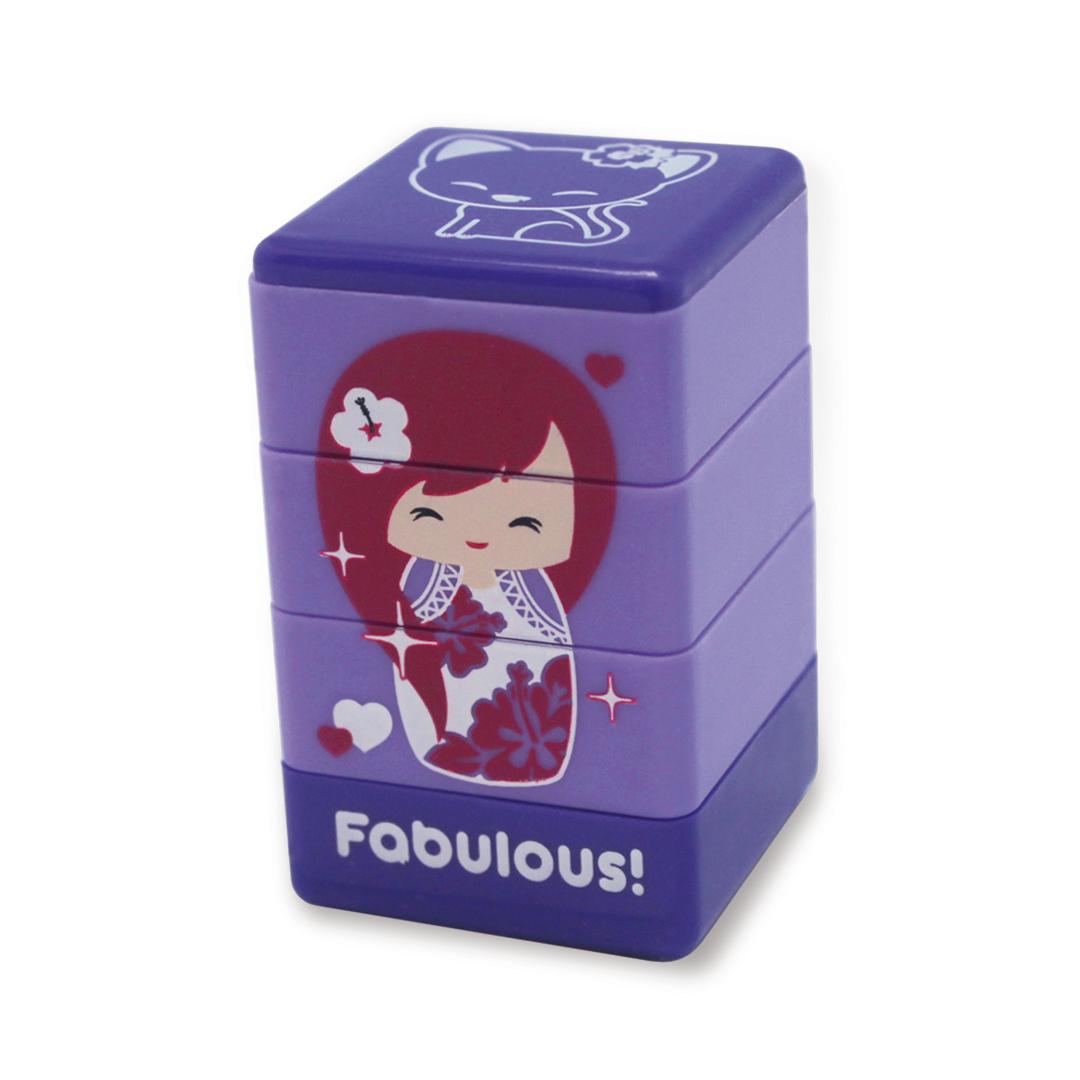"stamps - ""pua"" (purple)"