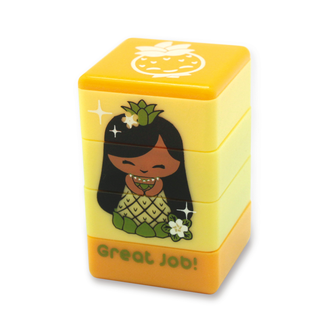 """stamps - """"mai"""" (yellow)"""