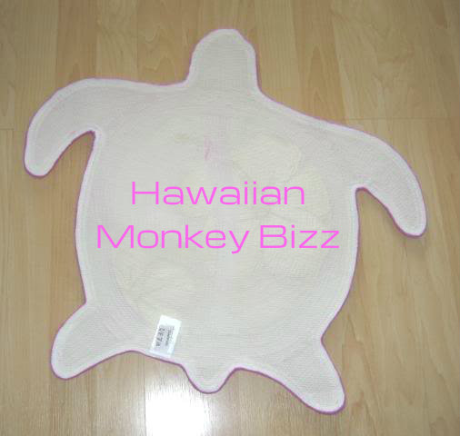 """turtle-shaped rugs"""